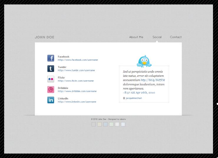 Digital Business Card – Colourside